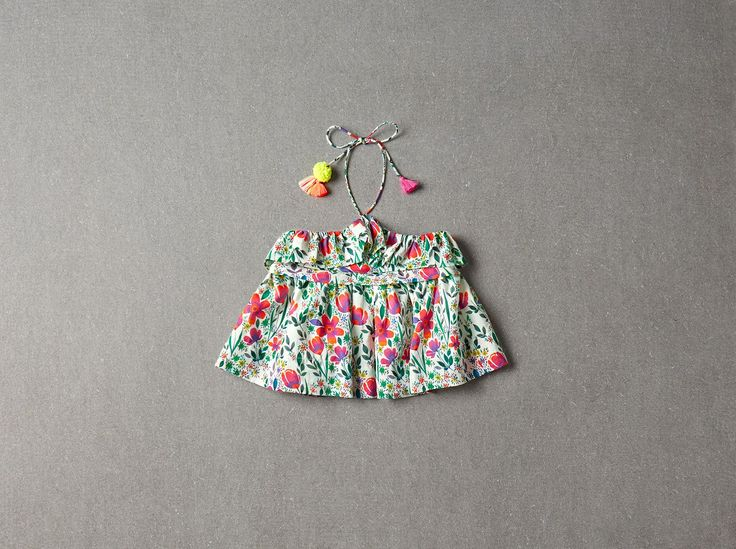 Nellystella Candy Blouse in Poppy Floral