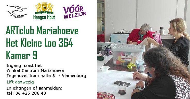 Artclub Mariahoeve opgericht - http://www.oktip.nl/artclub-mariahoeve-opgericht/