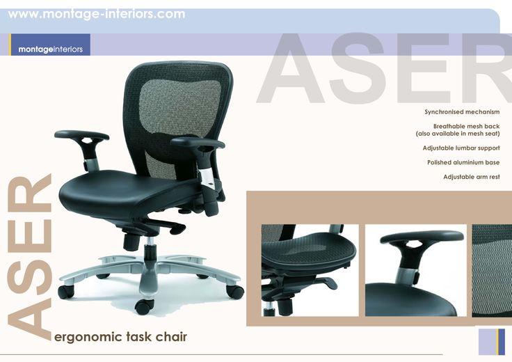 ASER ergonomic task chair