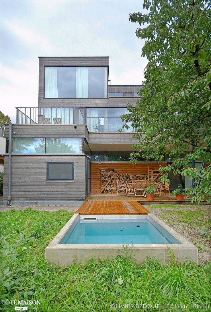 46 futuristic swimming pools - Un Petit Bassin Cologique Dans Un Jardin Swimming Poolsprojects