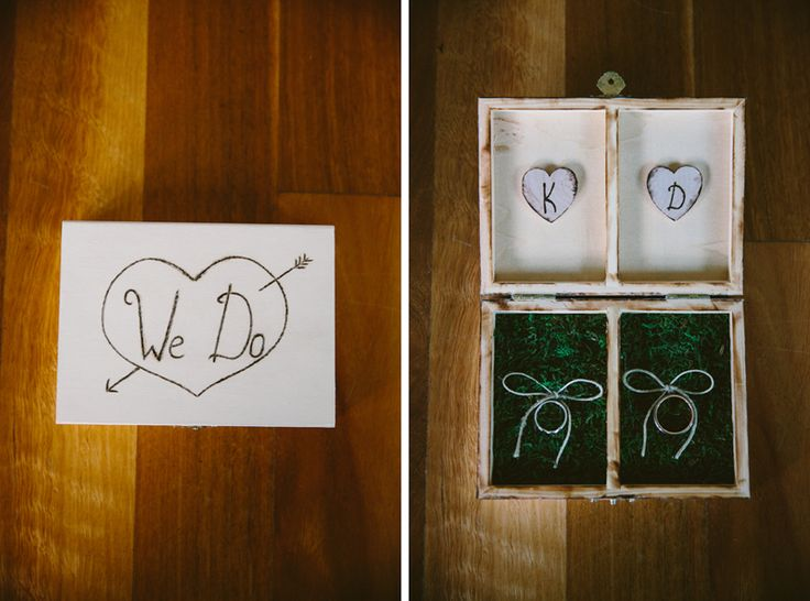 Wedding ring box. Image: Cavanagh Photography http://cavanaghphotography.com.au