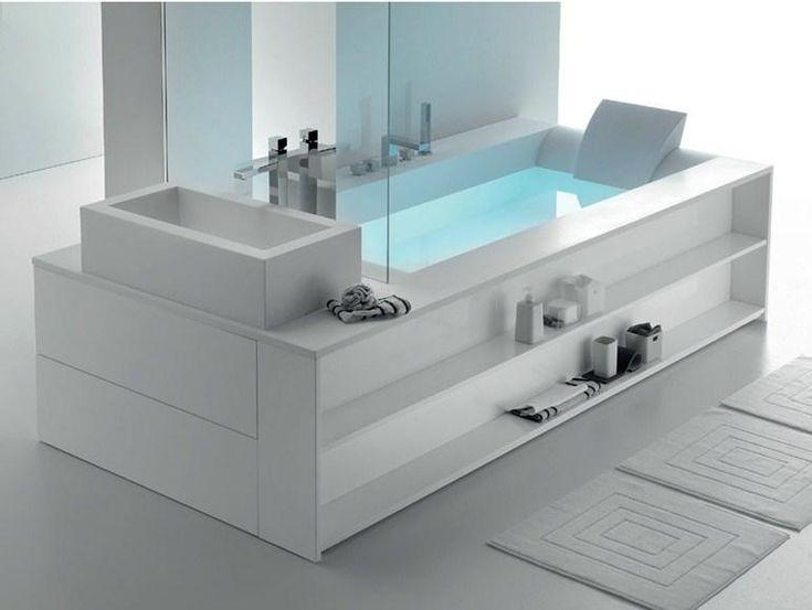 Oltre 1000 idee su grande vasca da bagno su pinterest - Vasca da bagno grande ...