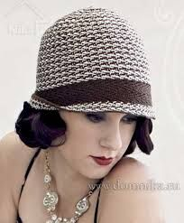 Картинки по запросу вязаная шляпа с полями крючком