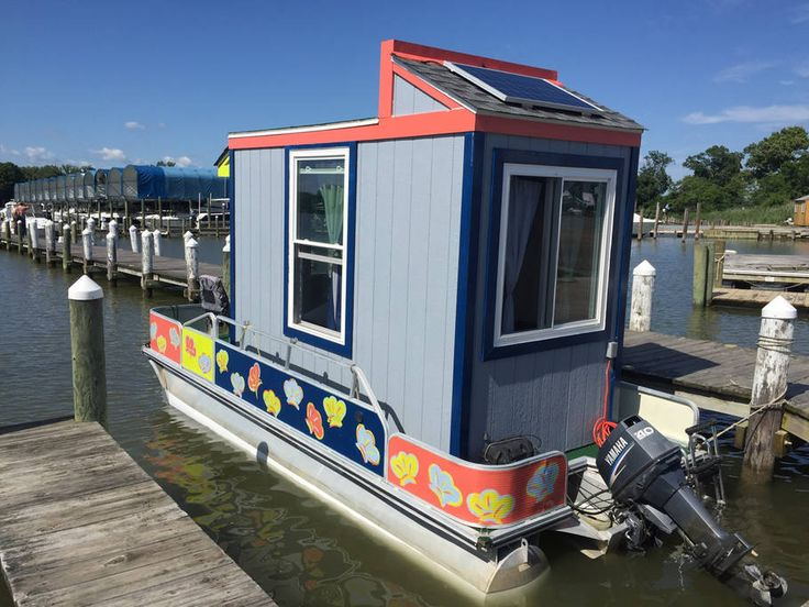 Best Holy Houseboat Images On Pinterest Floating House - Awesome floating house shore vista boat dock by bercy chen studio
