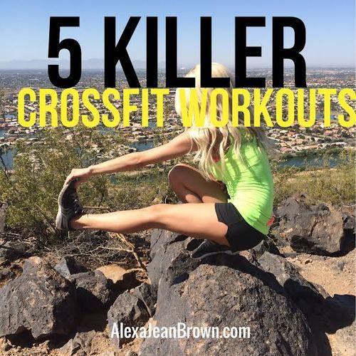 Alexa JeanAlexa Jean 5 killers crossfit workouts