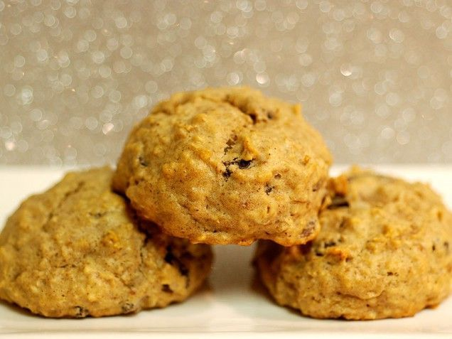 Applesauce Oatmeal Raisin Cookies. I added a little honey because I knew my boys would like it, but it probably wasn't even necessary. Good recipe