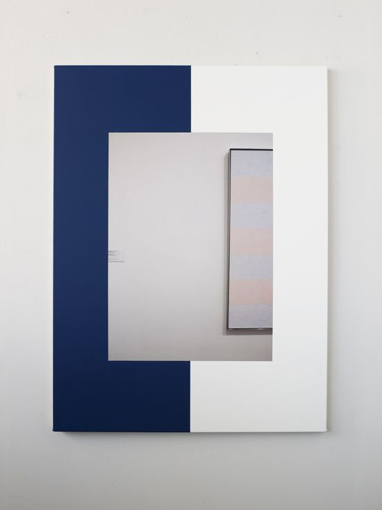 Ian Wallace, Abstract Composition (with Agnes Martin), 2011