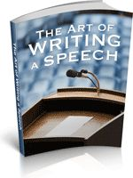 Speeches can be a daunting thing, this ebook will take away the stress and show you how to write the best speech of your life. - Download for FREE!
