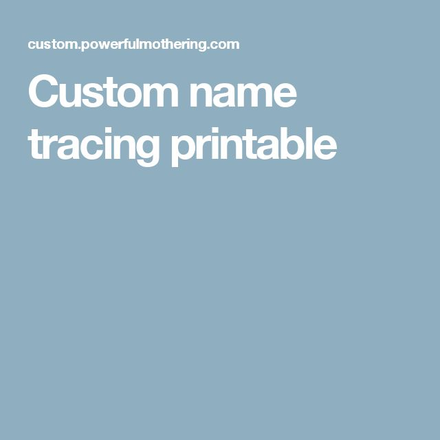 1000+ ideas about Name Tracing on Pinterest : Dot To Dot ...