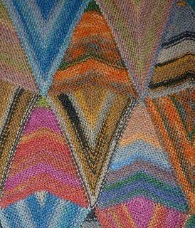 Gallery.ru / Фото #90 - Пэчворк из треугольников - Jollga