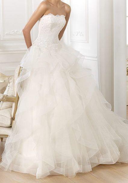 Robe de mariée Leante, Pronovias collection Dreams 2014 à Paris