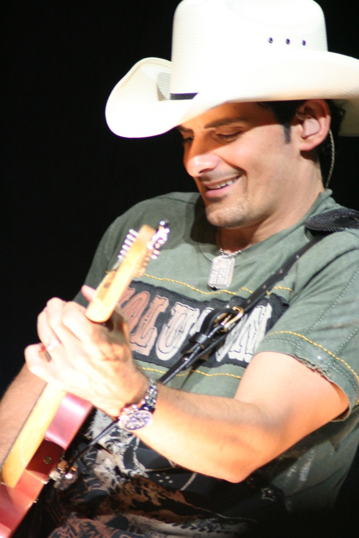 My photo from Brad Paisley concert 8-2006, in Tampa, FL.