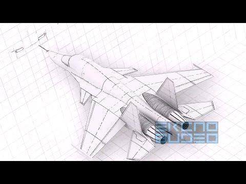 ▶ United Aircraft Corporation - Su-32 (Su-34) Fullback Stealth Fighter-Bomber [1080p] - YouTube