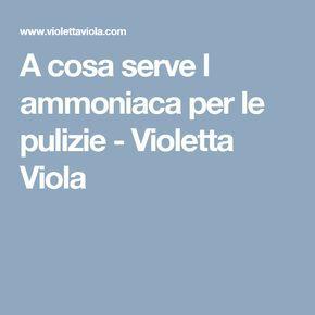 A cosa serve l ammoniaca per le pulizie - Violetta Viola