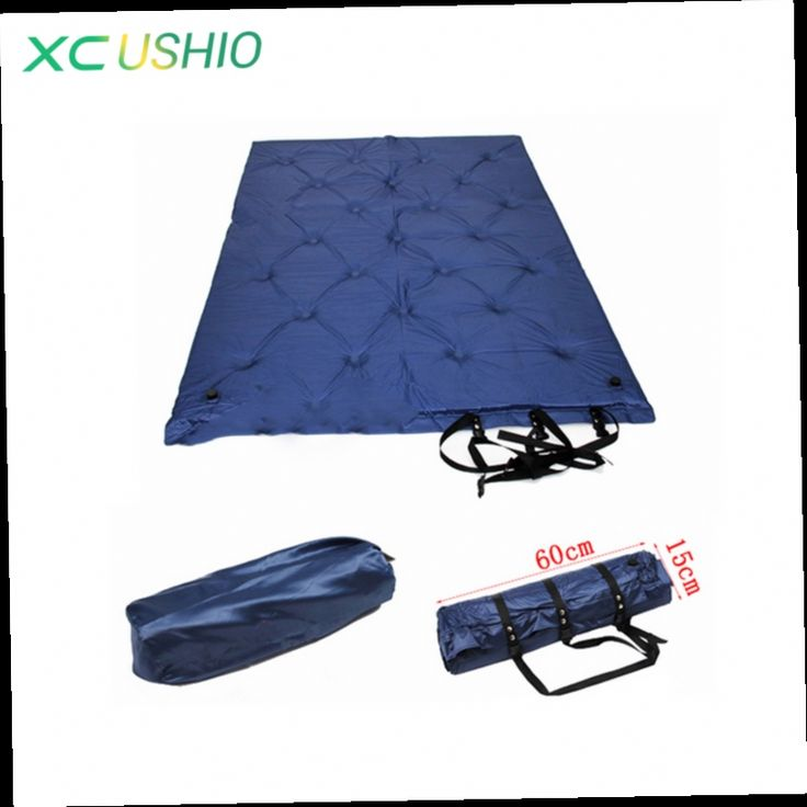 49.99$  Buy now - http://ali0u1.worldwells.pw/go.php?t=32226571530 - Hot sale Double size Sleeping groundsheet Inflatable Mattress Camping Equipment Outdoor Hiking Travel Ultra light mat 49.99$