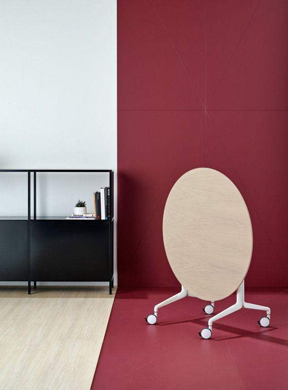 Aire fold table | Kase storage | Schiavello.