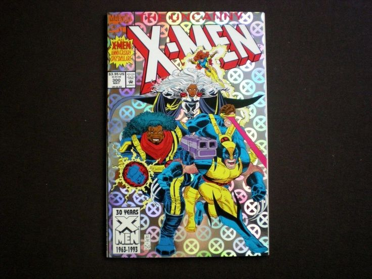 Uncanny X-Men 300, (1993), 1st app Legacy Virus, Marvel WX