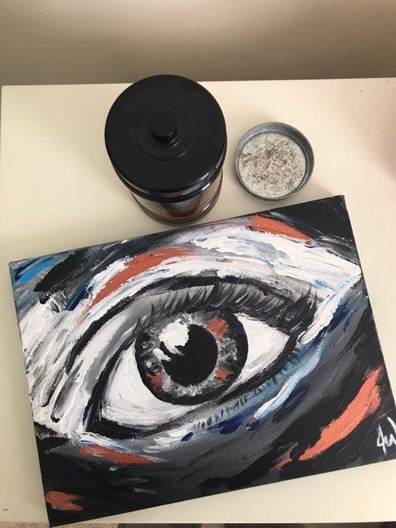 Human Eye Painting Abstract Painting Anatomy Art
