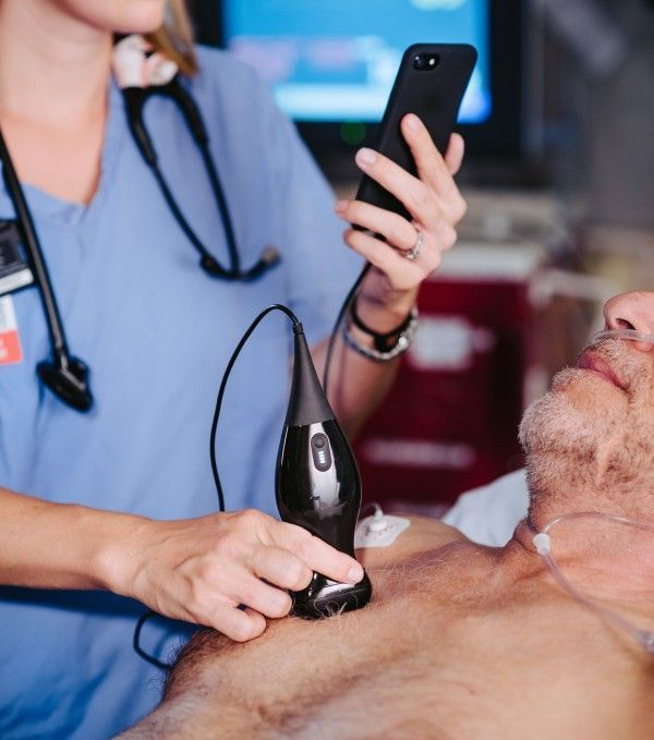 Can a smartphone-enabled ultrasound machine become medicine's next stethoscope?