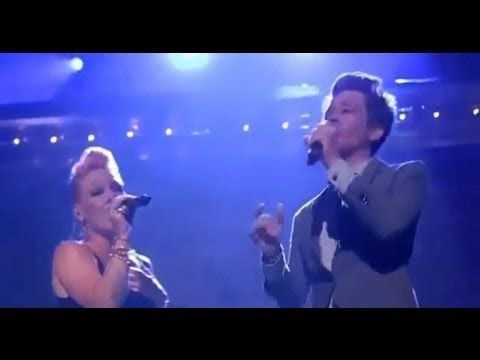 P!nk ft Nate Ruess - Just give me a reason LIVE - Just give me a reason Directo HD Best Performance - YouTube