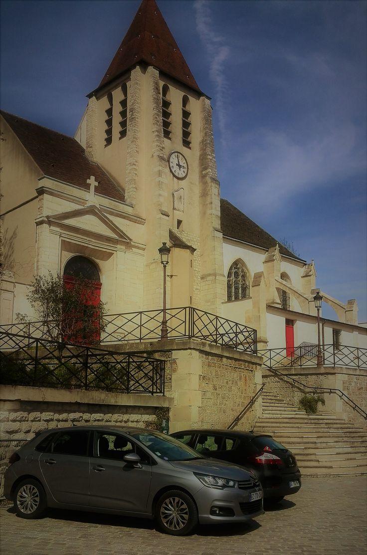 Eglise St Germain rue de Bagnolet (les Tontons Flingueurs )