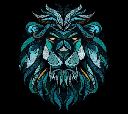Trippy Lion Backgrounds Www Picturesso Com