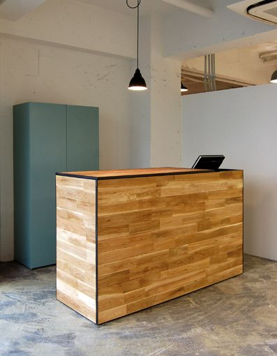 Naut reception desk island