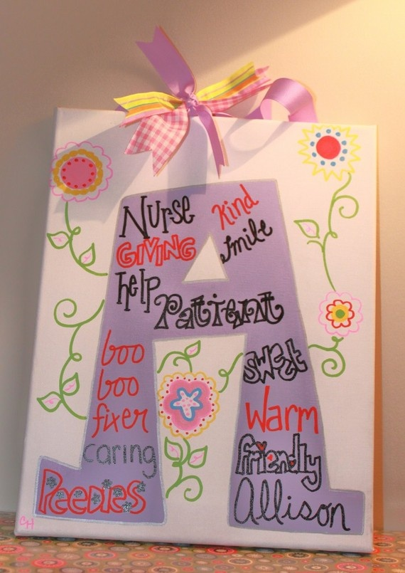 Best Painting Ideas Images On   Nurse Decor Painted