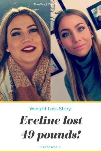 49 Pounds Lost: If the grass looks greener on the other side, then start watering the grass you're standing on! Read her inspirational transformation story and meal prep tips. Motivational before and after fitness success stories from men and women who hit their weight loss goals with training and dedication. | TheWeighWeWere.com