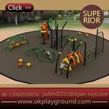 Good quality approved friendly material innovation novelty outdoor children playground equipment