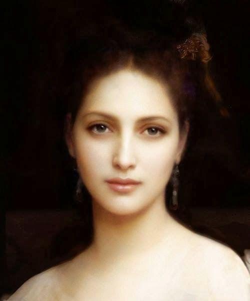 """Aphrodite"", detail, by William-Adolphe Bouguereau, 1825 - 1905."