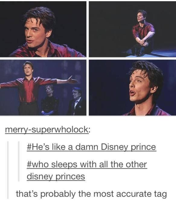 Petition for the next Disney princess movie to be about Jack sleeping/falling in love  with another Prince.
