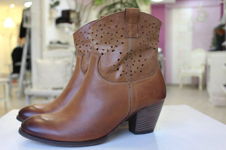 Csau brown leather boots