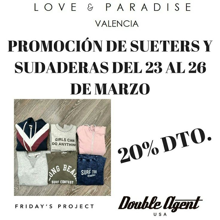New promotion! 🌴💕 @doubleagentusa @fridaysproject  #doubleagentusa #spring #igers #igersvalencia #instagood #instadaily #instafashion #outfitoftheday #pictureoftheday #photography #californiagirl #streetwear #streetwearfashion #streetstyle #fashionpost #todaysoutfit #fashiondiaries #instastyle #lookoftheday #outfitpost #streetweardaily #promotion #sweatshirt #sweater