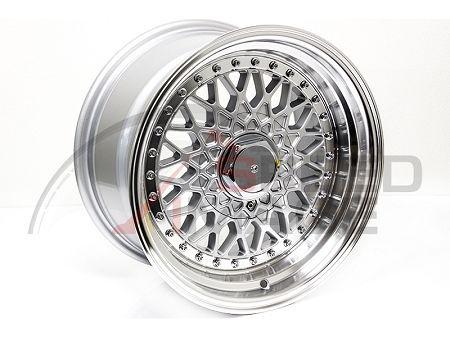 BB USA - BBS RS Style Wheels - 15x8 +20 4x100 67.1 Hub - Silver - Set of 4 Wheels