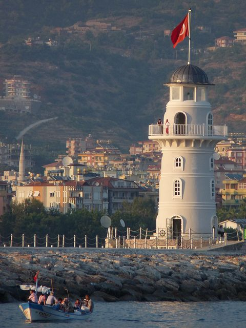Alanya Lighthouse, Turkey