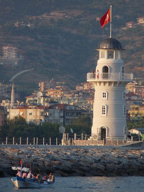 Alanya Lighthouse, Turkey