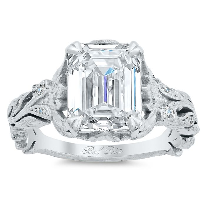 17 best images about emerald cut engagement rings on