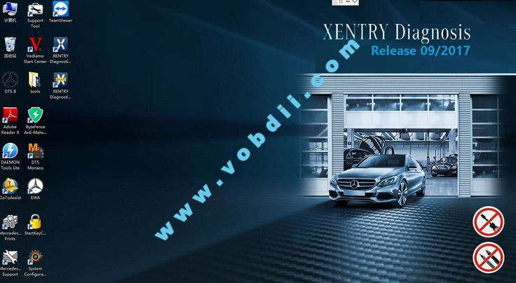 2017.09 Mercedes Star Software is MB Xentry das win7 diagnostic software for mercedes bens cars and trucks. 2017.09v Mercedes Xentry Software has been installed on windows 64bit system. Latest Xentry das 2017.09v software works with mb sd connect c4 multiplex. -->Contact information: Email: info@vobdii.com Skype: Autodiagnostickit Whatapp: +86-13728823315 Facebook: https://www.facebook.com/vobdii/