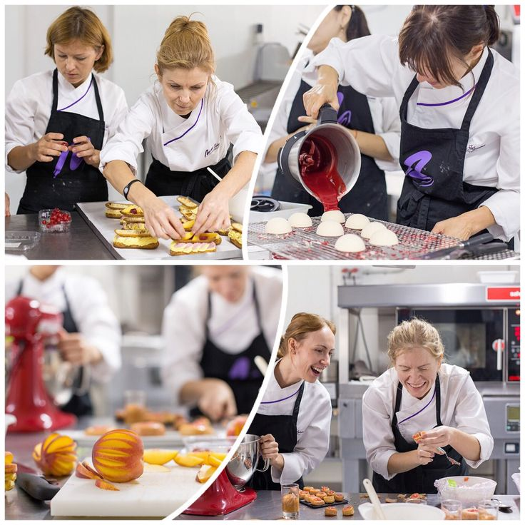 Alumnos trabajando en el Curso de Vitrina Pastelera en Septiembre 2014. Formación 100% practica. Programa de Cursos 2015: http://www.mariaselyanina.es/cursos  Программа курсов на 2015 год:  http://www.mariaselyanina.ru/courses2015rus.pdf  Nosotros ponemos el camino,  Tu pones el límite.  Maria Selyanina's House-Pastry Lab & Atelier Gourmand. www.mariaselyanina.com (+34) 931224646 @maria_selyanina Barcelona - Spain  #mariaselyanina #mariaselyaninaschool #russia #barcelona