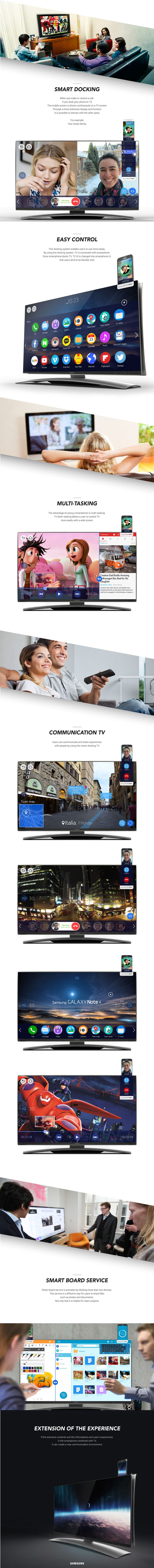 Smart Docking TV on Behance