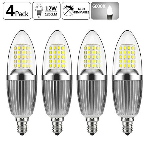 Best 25 led candelabra bulbs ideas on pinterest next home gezee led candelabra bulb non dimmable 100 watt light bulbs equivalent 12w aloadofball Choice Image