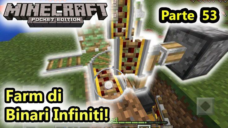 Minecraft PE - Farm di Rotaie infinite! - (Salvo Pimpo's)