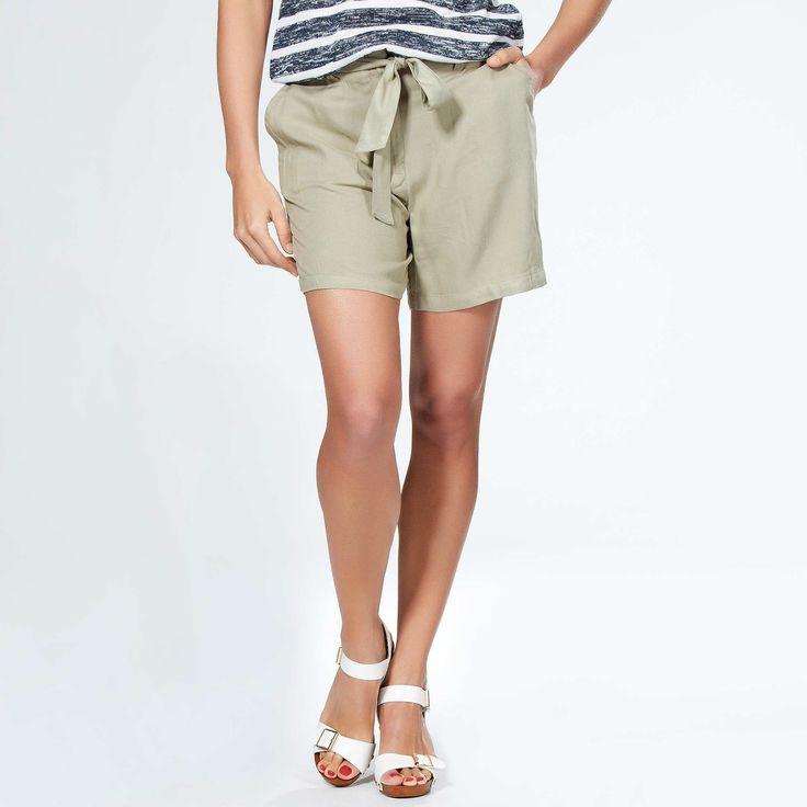 Softly draping loose-fit shorts Women size 34 to 52 - Kiabi - 12,00EUR