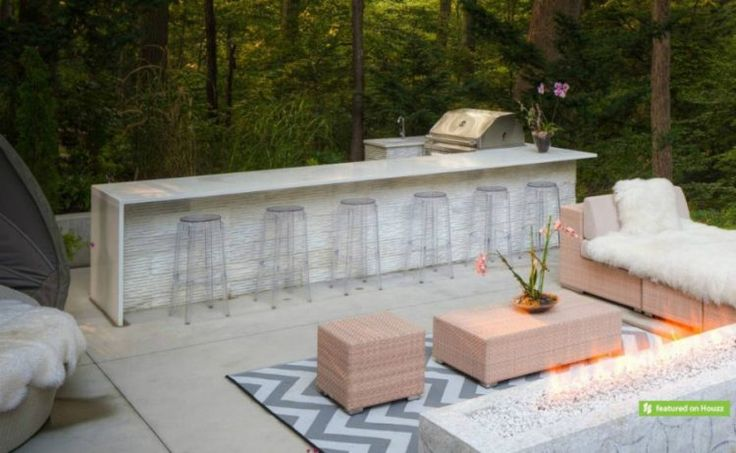 best 25 modern outdoor kitchen ideas on pinterest bbq melbourne modern outdoor grills and. Black Bedroom Furniture Sets. Home Design Ideas