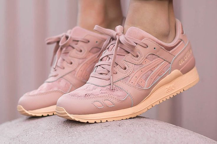 "ASICS GEL-Lyte III ""Peach"" Is Rose Pretty"