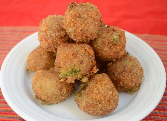 Broccoli & Cheese Bites