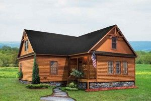 log cabin modular homes for sale