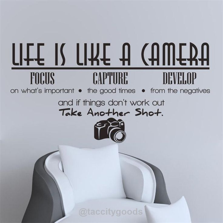 cheap wall sticker buy quality wall decals directly from china home decor suppliers new letter creative desk pvc life is like a camera wall sticker