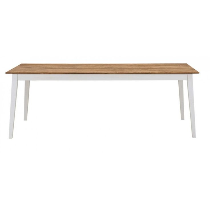 Maine Dining Table 1800mm White